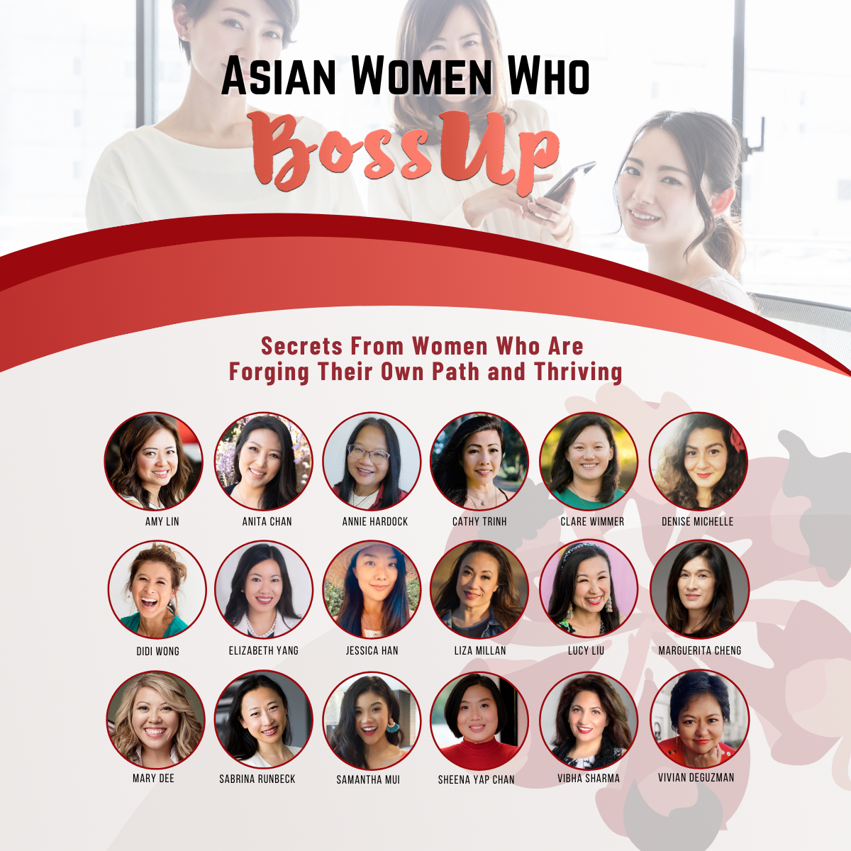 Meet The Authors From Asian Women Who Boss Up